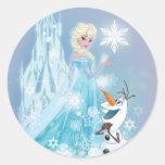 Elsa and Olaf - Icy Glow Sticker