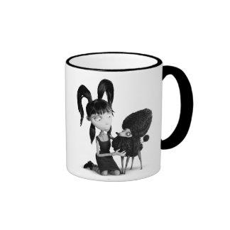 Elsa and Persephone Ringer Mug
