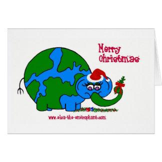 Elsa Christmas Card-Card