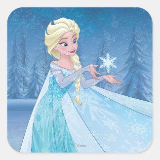 ¡Elsa - déjelo ir! Pegatina Cuadrada
