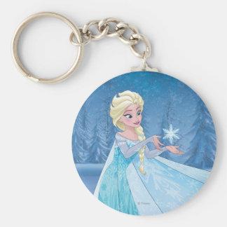¡Elsa el   lo dejó ir! Llavero Redondo Tipo Pin