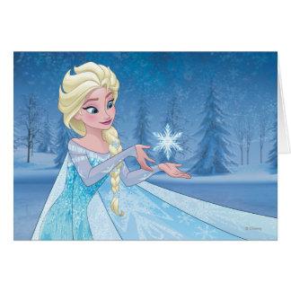 ¡Elsa el | lo dejó ir! Tarjeta De Felicitación