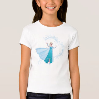 Elsa el | que chispea, hielo elegante playera