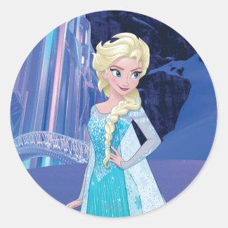 Elsa - Eternal Winter Classic Round Sticker