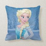 Elsa - Eternal Winter Throw Pillow
