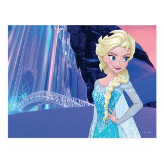 Elsa - invierno eterno tarjeta postal