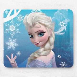 Elsa la reina de la nieve alfombrilla de raton