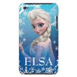 Elsa la reina de la nieve barely there iPod fundas