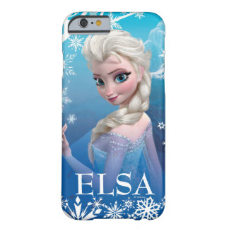 Elsa la reina de la nieve funda de iPhone 6 barely there