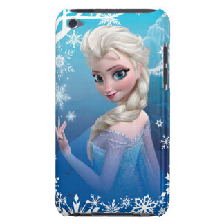 Elsa la reina de la nieve iPod Case-Mate cárcasa