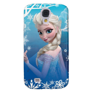 Elsa la reina de la nieve funda para galaxy s4