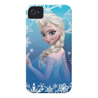 Elsa la reina de la nieve iPhone 4 Case-Mate carcasa