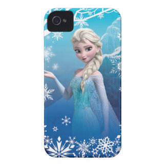 Elsa la reina de la nieve iPhone 4 Case-Mate cobertura