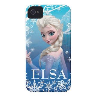 Elsa la reina de la nieve iPhone 4 fundas