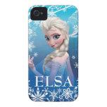 Elsa la reina de la nieve iPhone 4 protectores