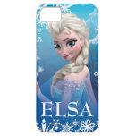 Elsa la reina de la nieve iPhone 5 cárcasa