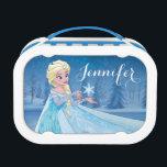 """Elsa   Let it Go! Lunch Box<br><div class=""""desc"""">Frozen - Elsa</div>"""