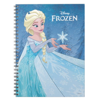 Elsa - Let it Go! Spiral Note Book