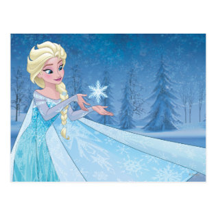 Elsa - Let it Go! Postcard