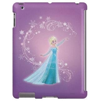 Elsa - los deshielos del amor, amor brillan funda para iPad