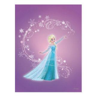 Elsa - los deshielos del amor, amor brillan postal