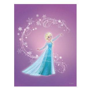 Elsa - Love Thaws, Love Glows Postcard
