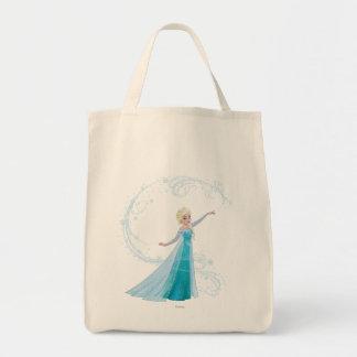 Elsa - magia del invierno bolsa tela para la compra