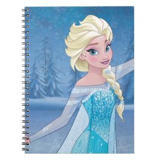 Elsa - magia del invierno note book