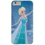 Elsa - magia del invierno funda de iPhone 6 plus barely there