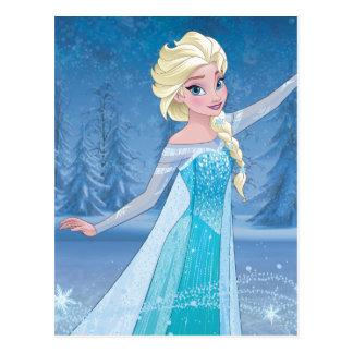Elsa - magia del invierno tarjeta postal