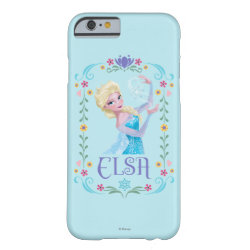 Case-Mate Barely There iPhone 6 Case with Elsa the Snow Queen's Powers Are Strong design
