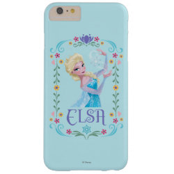 Case-Mate Barely There iPhone 6 Plus Case with Elsa the Snow Queen's Powers Are Strong design