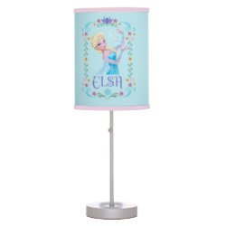 Elsa the Snow Queen's Powers Are Strong Table Lamp