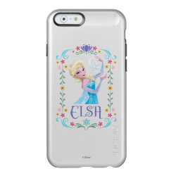 Incipio Feather® Shine iPhone 6 Case with Elsa the Snow Queen's Powers Are Strong design