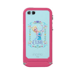 Incipio Feather Shine iPhone 5/5s Case with Elsa the Snow Queen's Powers Are Strong design