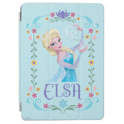 iPad Air Cover with Elsa the Snow Queen's Powers Are Strong design