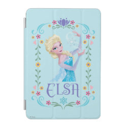 iPad mini Cover with Elsa the Snow Queen's Powers Are Strong design