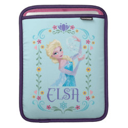 Elsa the Snow Queen's Powers Are Strong iPad Sleeve
