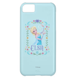 Case-Mate Barely There iPhone 5C Case with Elsa the Snow Queen's Powers Are Strong design