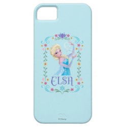 Case-Mate Vibe iPhone 5 Case with Elsa the Snow Queen's Powers Are Strong design