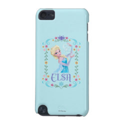 Case-Mate Barely There 5th Generation iPod Touch Case with Elsa the Snow Queen's Powers Are Strong design