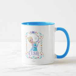Combo Mug with Elsa the Snow Queen's Powers Are Strong design
