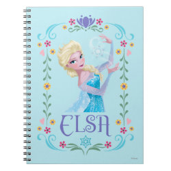 Photo Notebook (6.5' x 8.75', 80 Pages B&W) with Elsa the Snow Queen's Powers Are Strong design