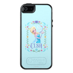 Elsa the Snow Queen's Powers Are Strong OtterBox Symmetry iPhone SE/5/5s Case