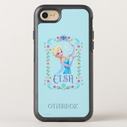 OtterBox Apple iPhone 7 Symmetry Case with Elsa the Snow Queen's Powers Are Strong design