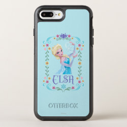 OtterBox Apple iPhone 7 Plus Symmetry Case with Elsa the Snow Queen's Powers Are Strong design