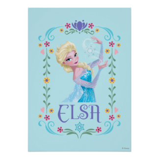 Elsa | My Powers are Strong Poster