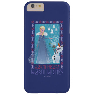 Elsa & Olaf   Warm Heart Warm Wishes Barely There iPhone 6 Plus Case