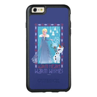 Elsa & Olaf   Warm Heart Warm Wishes OtterBox iPhone 6/6s Plus Case