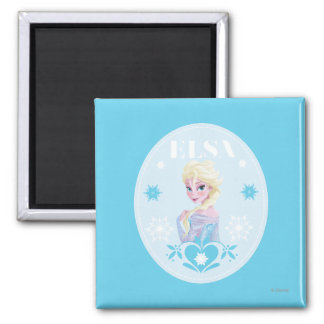 Elsa - Queen of Snow Refrigerator Magnets